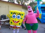 Spongebob & Patrick at Safety Harbor Concertfest (2009)