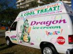 Dragon Ice Cream Event Truck