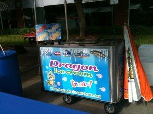 Dragon Ice Cream Cart #3