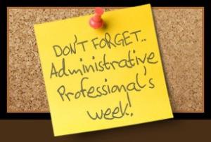 Admin Pro Week
